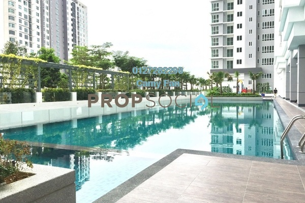 For Rent Condominium at Southbank Residence, Old Klang Road Freehold Semi Furnished 3R/2B 1.9k