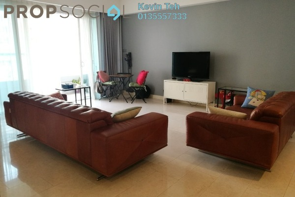 For Rent Condominium at Tiffani Kiara, Mont Kiara Freehold Fully Furnished 3R/4B 6k