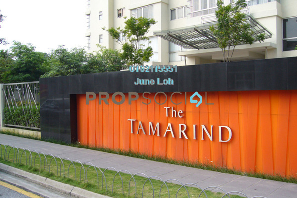 For Sale Condominium at The Tamarind, Sentul Leasehold Semi Furnished 3R/3B 690k