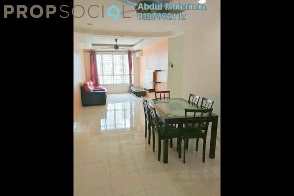 For Sale Condominium at Banjaria Court, Batu Caves Freehold Semi Furnished 3R/2B 355k