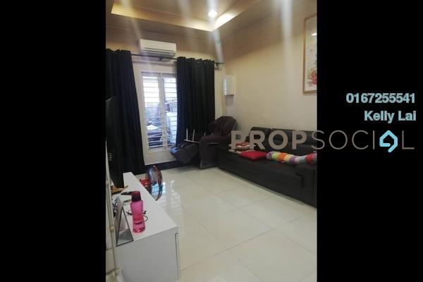For Sale Terrace at Kepong Baru, Kepong Freehold Semi Furnished 4R/2B 740k