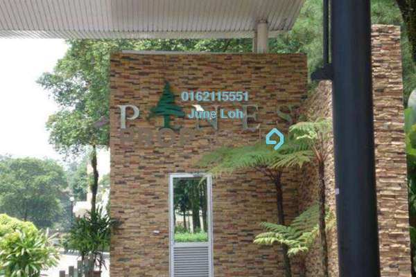For Sale Condominium at Mont Kiara Pines, Mont Kiara Leasehold Fully Furnished 3R/2B 980k