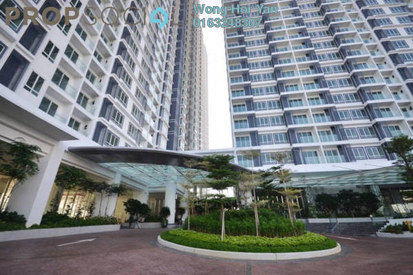 For Sale Condominium at Desa Green Serviced Apartment, Taman Desa Freehold Unfurnished 3R/2B 600k