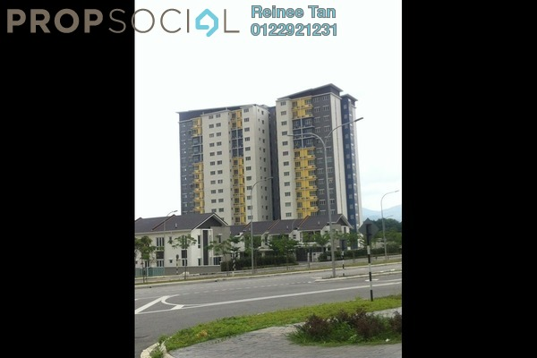 For Sale Apartment at Tiara South, Semenyih Freehold Semi Furnished 3R/2B 270k