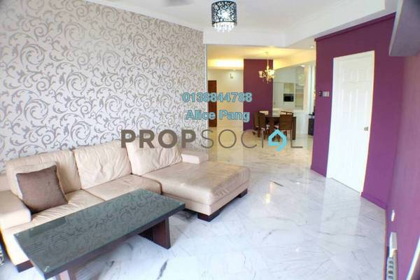 For Sale Condominium at Marina Bay, Tanjung Tokong Freehold Fully Furnished 3R/2B 800k