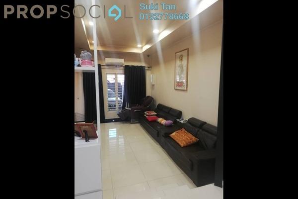 For Sale Terrace at Kepong Baru, Kepong Freehold Semi Furnished 3R/2B 740k