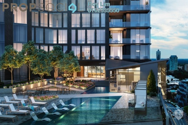 For Sale Condominium at One Residences, Sungai Besi Freehold Fully Furnished 2R/2B 577k