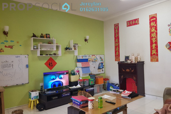 For Sale Townhouse at Taman Skyline, Old Klang Road Freehold Semi Furnished 3R/2B 590k