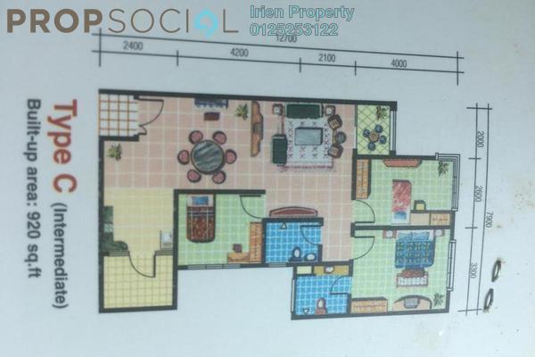For Rent Condominium at Pelangi Utama, Bandar Utama Freehold Semi Furnished 3R/2B 1.65k