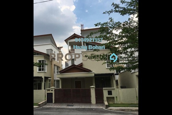For Sale Bungalow at Section 4, Shah Alam Freehold Semi Furnished 7R/7B 2.1Juta
