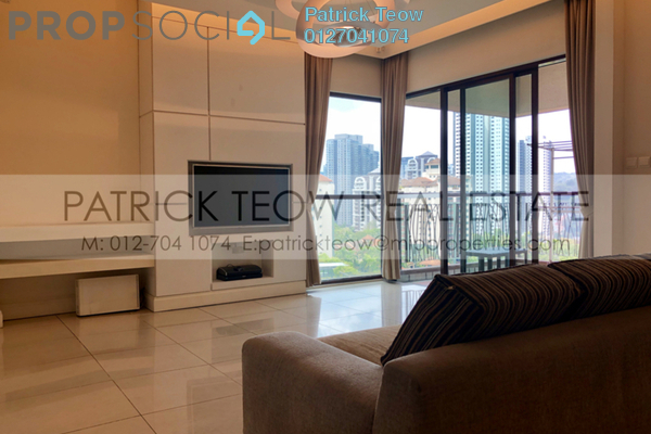 For Rent Condominium at Mont Kiara Damai, Mont Kiara Freehold Fully Furnished 3R/4B 6.5k