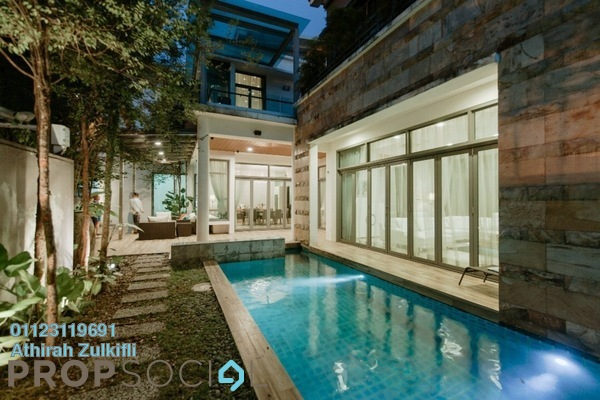 For Sale Bungalow at The Residence, Mont Kiara Freehold Fully Furnished 5R/6B 11.9m