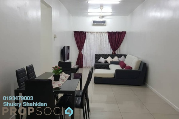 For Sale Condominium at Casa Idaman, Jalan Ipoh Leasehold Fully Furnished 3R/2B 420k