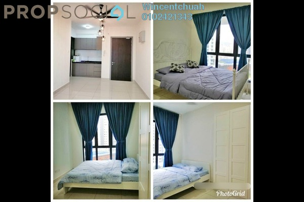 For Sale Serviced Residence at KL Traders Square, Kuala Lumpur Freehold Semi Furnished 3R/2B 495k