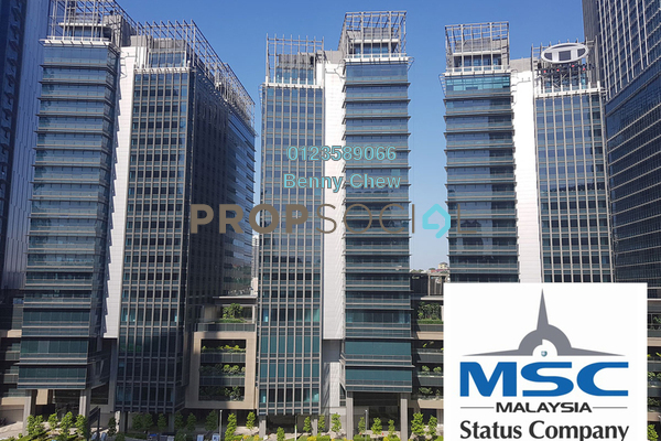 For Rent Office at The Pillars @ KL Eco City, Mid Valley City Freehold Semi Furnished 0R/0B 24.1k