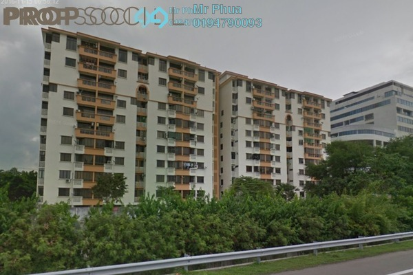 For Rent Apartment at Pantai Apartment, Butterworth Leasehold Unfurnished 3R/3B 1.5k