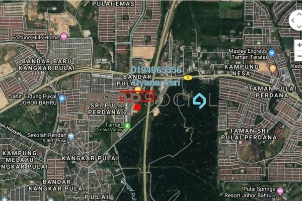 For Sale Land at Bandar Pulai Jaya, Skudai Freehold Unfurnished 0R/0B 15m