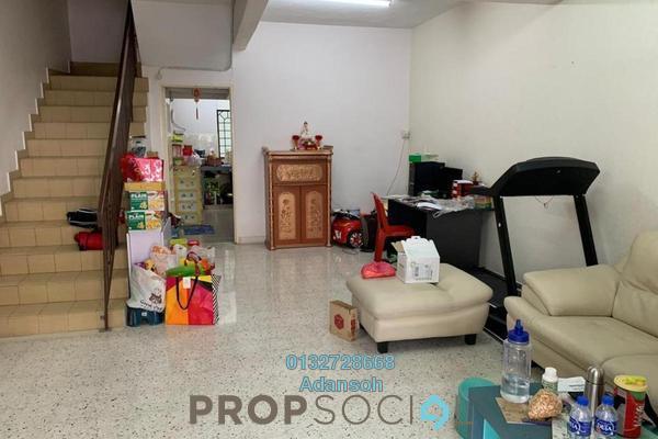 For Sale Terrace at Taman Segambut Indah, Jalan Ipoh Freehold Semi Furnished 3R/3B 690k