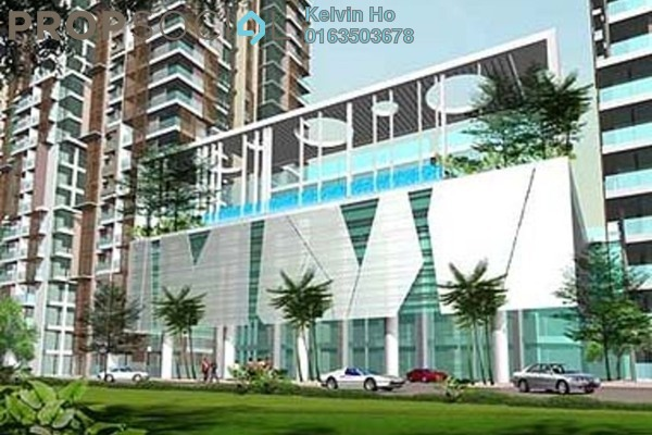 For Rent Condominium at KL Palace Court, Kuchai Lama Leasehold Semi Furnished 2R/2B 1.7k