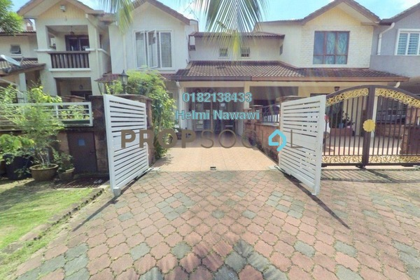For Sale Terrace at Jelutong Heights, Bukit Jelutong Freehold Semi Furnished 4R/3B 750k