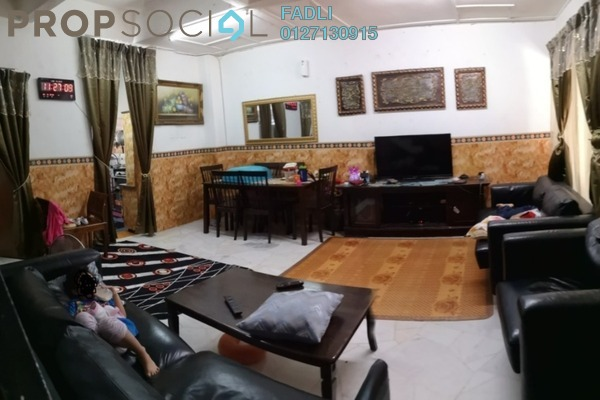 For Sale Terrace at Taman Impian Ehsan, Balakong Leasehold Semi Furnished 4R/3B 350k