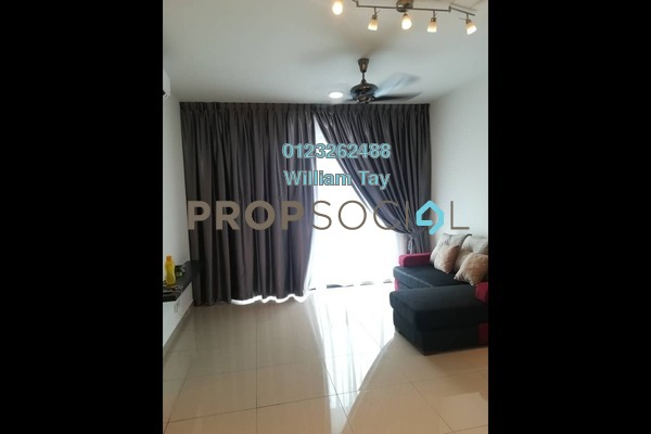 For Rent Serviced Residence at The Nest, Setapak Freehold Semi Furnished 3R/2B 1.5k