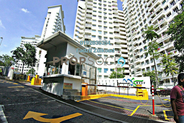 For Sale Condominium at Monte Bayu, Cheras Freehold Unfurnished 3R/2B 360k