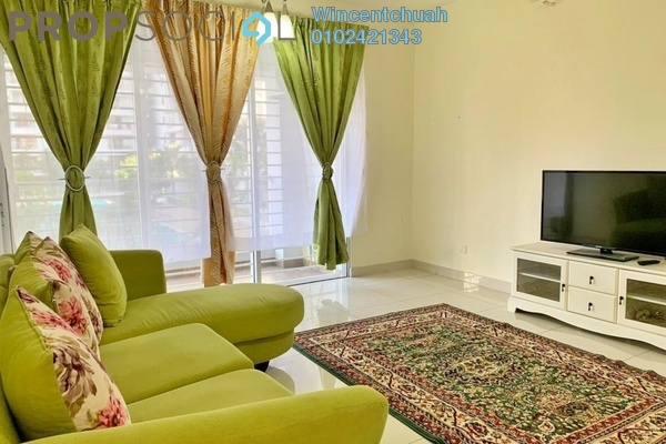 For Rent Condominium at Platinum Hill PV2, Setapak Freehold Fully Furnished 3R/2B 2.2k
