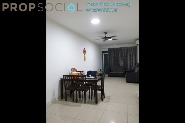 For Sale Condominium at Kiara Residence, Bukit Jalil Freehold Fully Furnished 3R/2B 500k
