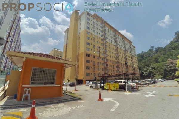 For Sale Apartment at Apartment Jemerlang, Selayang Heights Leasehold Semi Furnished 3R/2B 220k