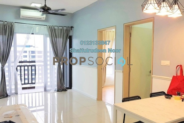 For Sale Serviced Residence at Suria Residence, Bukit Jelutong Freehold Semi Furnished 2R/1B 500k