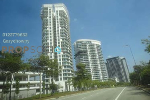 For Sale Condominium at Cristal Residence, Cyberjaya Freehold Semi Furnished 3R/3B 422k