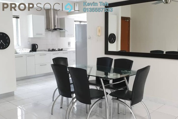 For Rent Condominium at Kiara Designer Suites, Mont Kiara Freehold Fully Furnished 4R/3B 3.5k