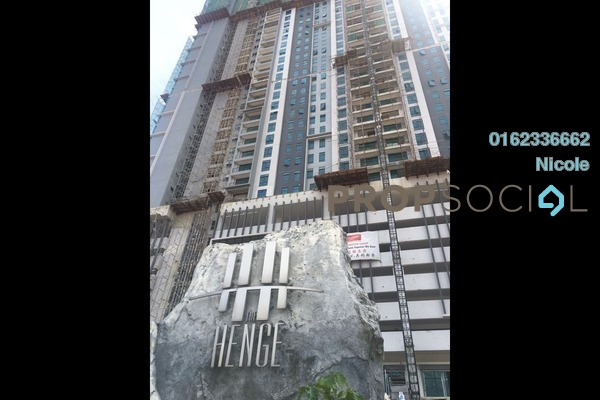 For Rent Condominium at The Henge Residence, Kepong Freehold Unfurnished 3R/2B 1.5k