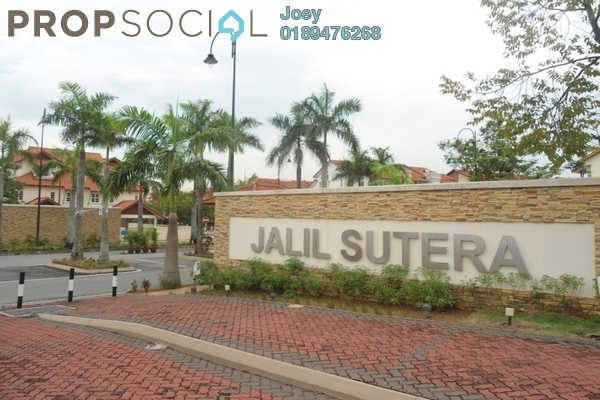 For Sale Superlink at Jalil Sutera, Bukit Jalil Freehold Unfurnished 5R/4B 1.7m