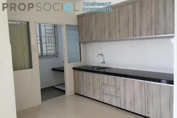 For Sale Apartment at Seri Baiduri, Setia Alam Freehold Semi Furnished 3R/2B 328k