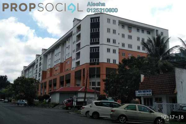 For Sale Apartment at Taman Daya, Kepong Freehold Unfurnished 0R/0B 219k