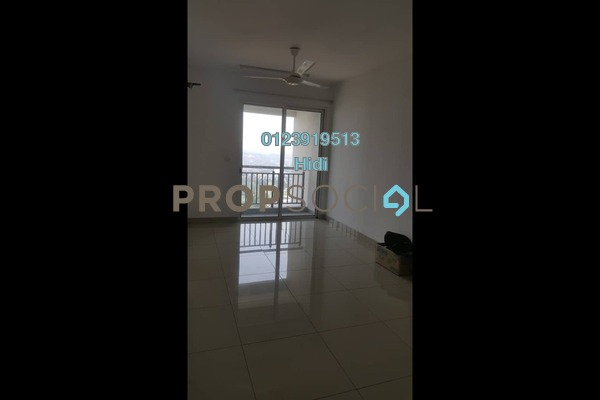 For Rent Serviced Residence at De Centrum Residences, Kajang Freehold Unfurnished 2R/1B 1.3k