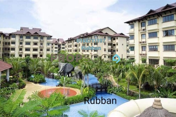 For Rent Apartment at Desa Idaman Residences, Puchong Freehold Semi Furnished 3R/2B 1.05k