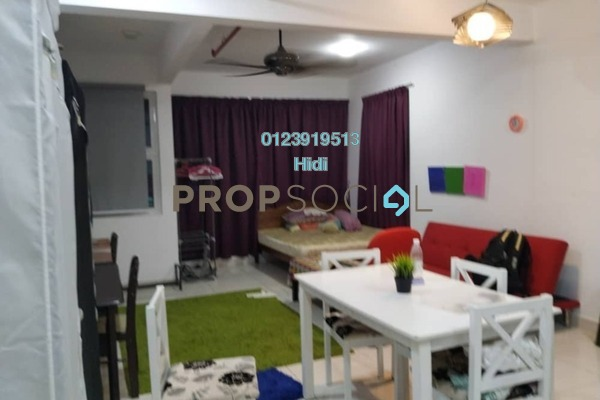 For Rent Duplex at De Centrum Residences, Kajang Freehold Fully Furnished 1R/2B 1.5k