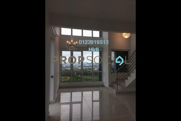 For Rent Duplex at De Centrum Residences, Kajang Freehold Unfurnished 1R/2B 1.3k