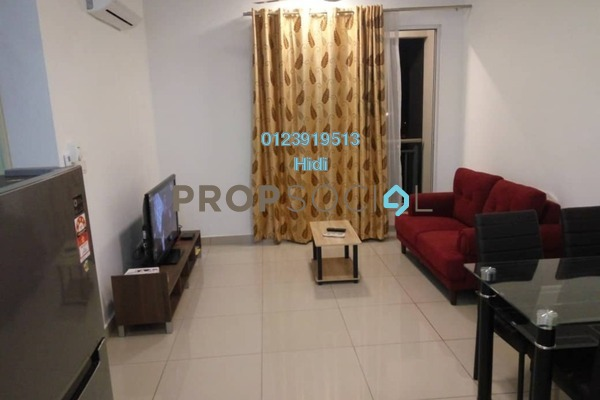 For Rent Serviced Residence at De Centrum Residences, Kajang Freehold Fully Furnished 2R/2B 1.7k