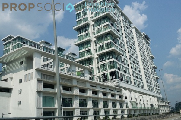 For Sale Condominium at The Scott Garden, Old Klang Road Freehold Semi Furnished 2R/1B 360k