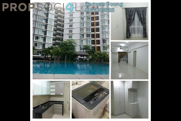 For Rent Condominium at Tiara Mutiara, Old Klang Road Freehold Semi Furnished 3R/2B 1.4k