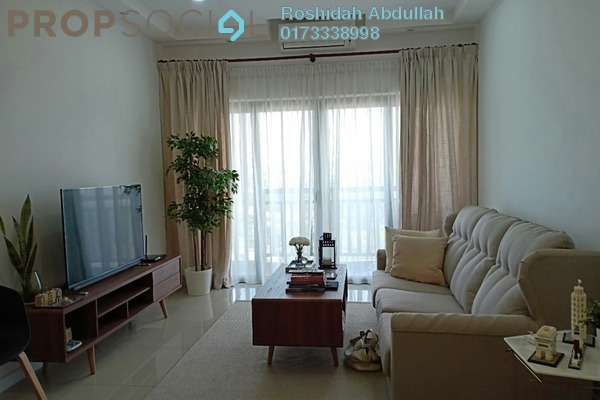 For Rent Serviced Residence at Suria Residence, Bukit Jelutong Freehold Fully Furnished 2R/2B 2.6k