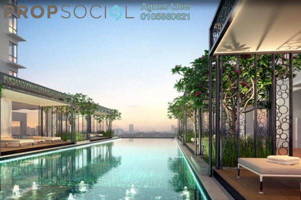 For Sale Condominium at Kaleidoscope, Setiawangsa Freehold Semi Furnished 3R/2B 589k