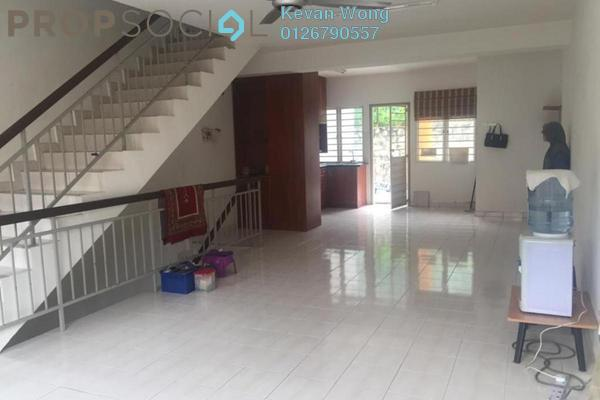 For Sale Terrace at Taman Bukit Permata, Batu Caves Freehold Semi Furnished 4R/3B 550k