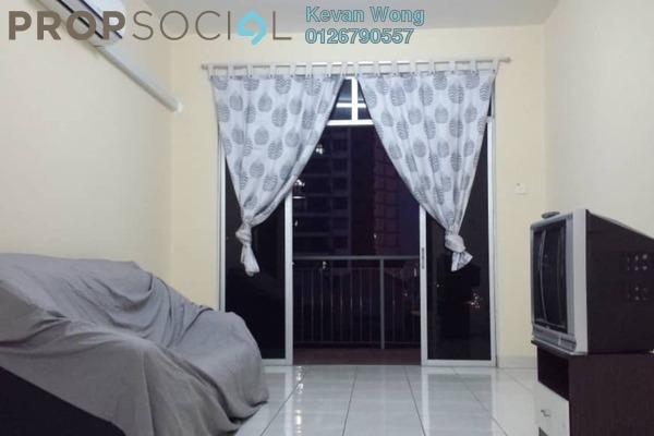 For Rent Condominium at Diamond Regency, Setapak Freehold Fully Furnished 3R/2B 1.4k