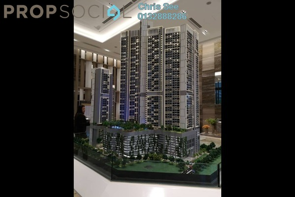 For Sale Condominium at Agile , Bukit Bintang Freehold Semi Furnished 2R/2B 1.08m