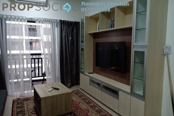 For Rent Serviced Residence at Suria Residence, Bukit Jelutong Freehold Fully Furnished 2R/2B 2.3k